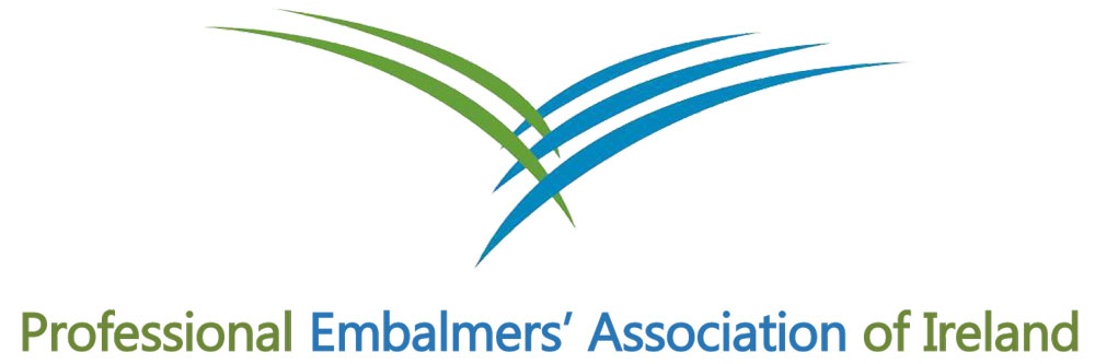 professional embalmers logo